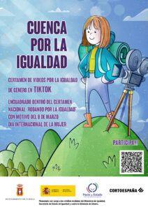 El Ayuntamiento de Cuenca lanza un certamen en la red social TikTok para concienciar por la igualdad