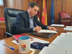 Martínez Chana envía una carta a ADIF solicitando el restablecimiento de la línea de tren Madrid-Cuenca-Valencia