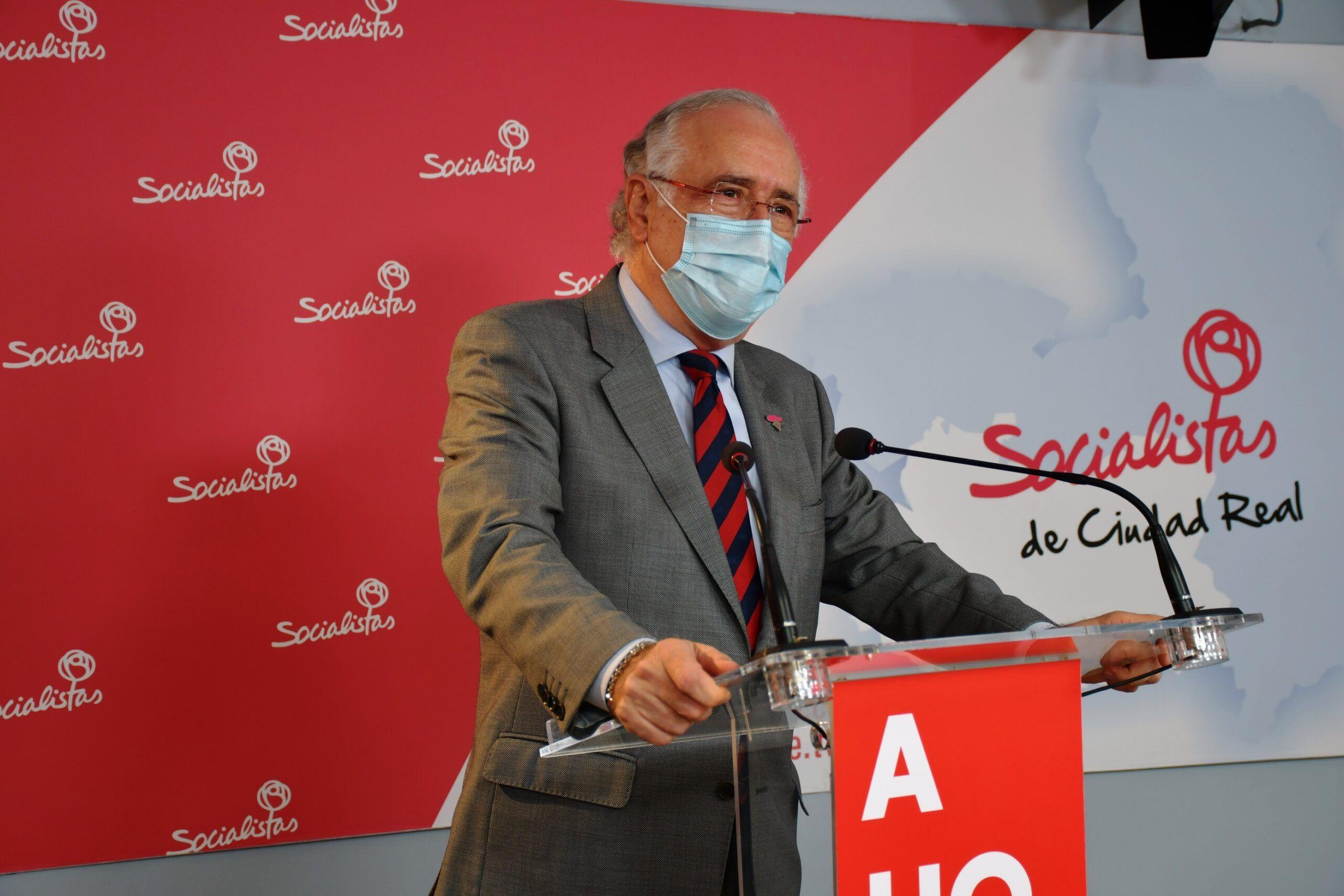 """El PSOE lamenta que """"la demagogia e irresponsabilidad del PP provincial de Ciudad Real, esté por encima de la salud de los ciudadanos"""""""