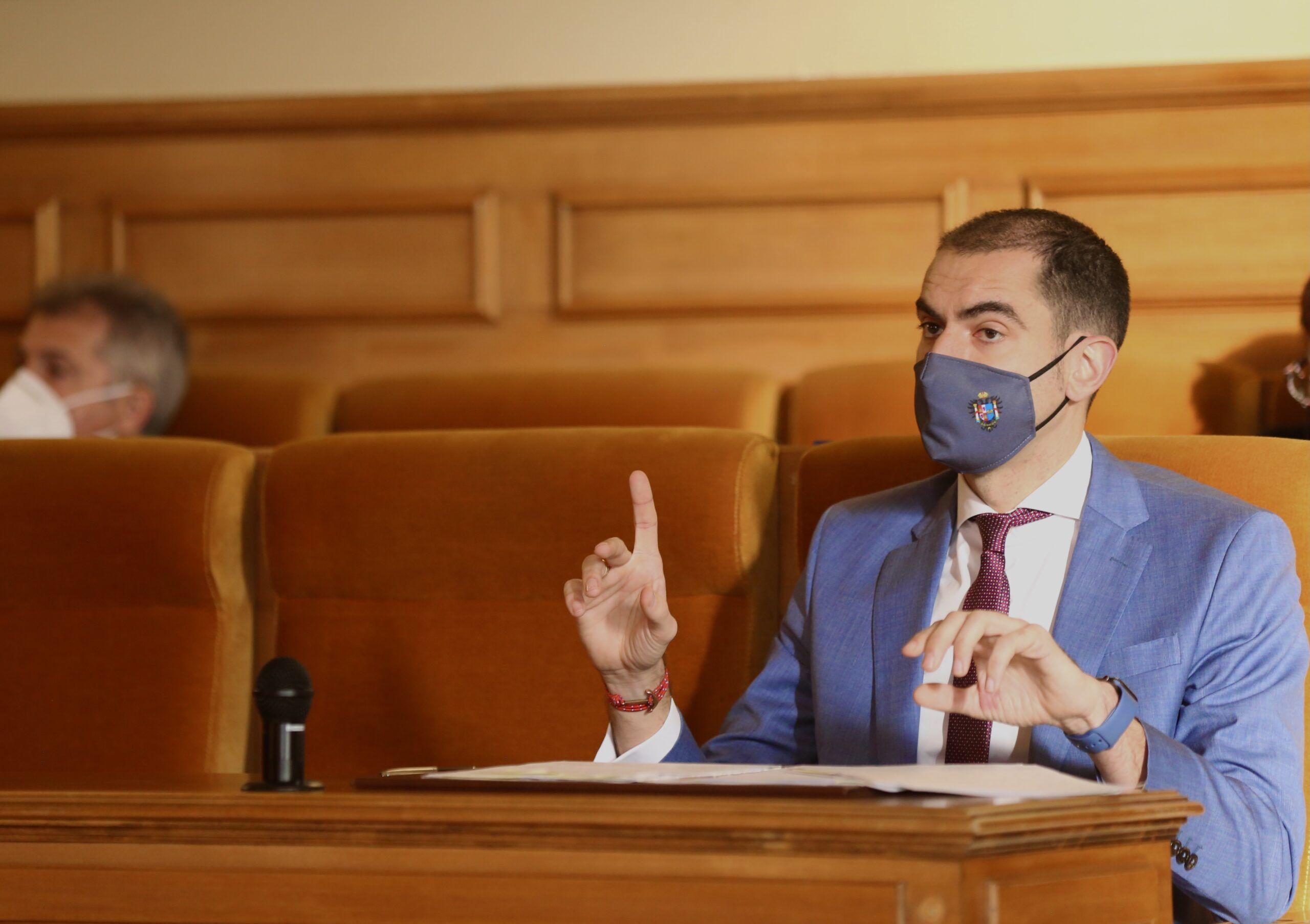 Comendador pide a la Diputación el
