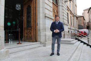 Congosto solicita al presidente de la Diputación que facilite información sobre el proceso de vacunación de la Residencia 'San José'