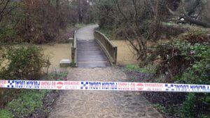 El Ayuntamiento cierra los accesos a los ríos ante el incremento del caudal