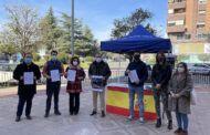 El PP sale a la calle para recabar apoyos en defensa de los Cuerpos y Fuerzas de Seguridad del Estado