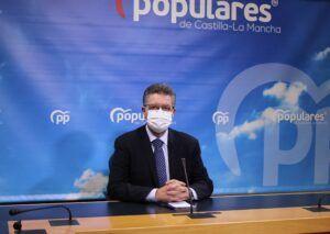 Moreno reclama a Page que adopte de manera `urgente´ medidas de prevención en salud pública para evitar que vuelva a imponer más restricciones a los castellano-manchegos