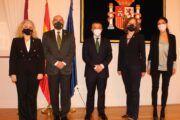 Recepción a la embajadora de Lituania
