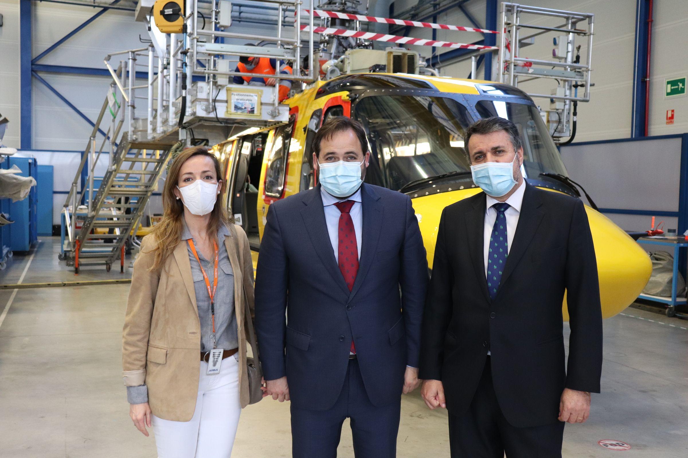 Navarro pregunta por las acciones que el Gobierno de España está promoviendo para que Albacete se beneficie de la fabricación del helicóptero Tigre MKIII