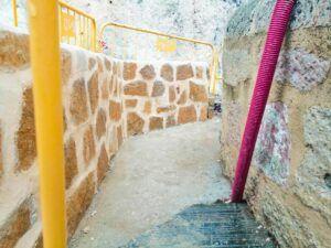 El Grupo Popularvisita las obras del Puente San Pablo ysugiere la posibilidad de reestudiar la intervención en el desembarco a calle Canónigos