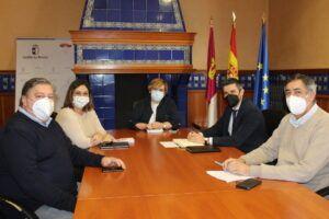 El Gobierno de Castilla-La Mancha analiza con el alcalde de Campo de Criptana los avances en el proyecto del auditorio en la localidad