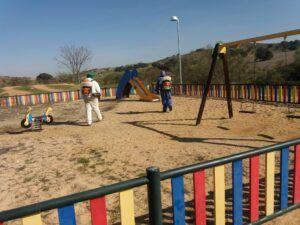 El Ayuntamiento reabre hoy el parque de las Tres Culturas y las zonas infantiles lo harán el lunes al igual que los 'Street WorkOut'
