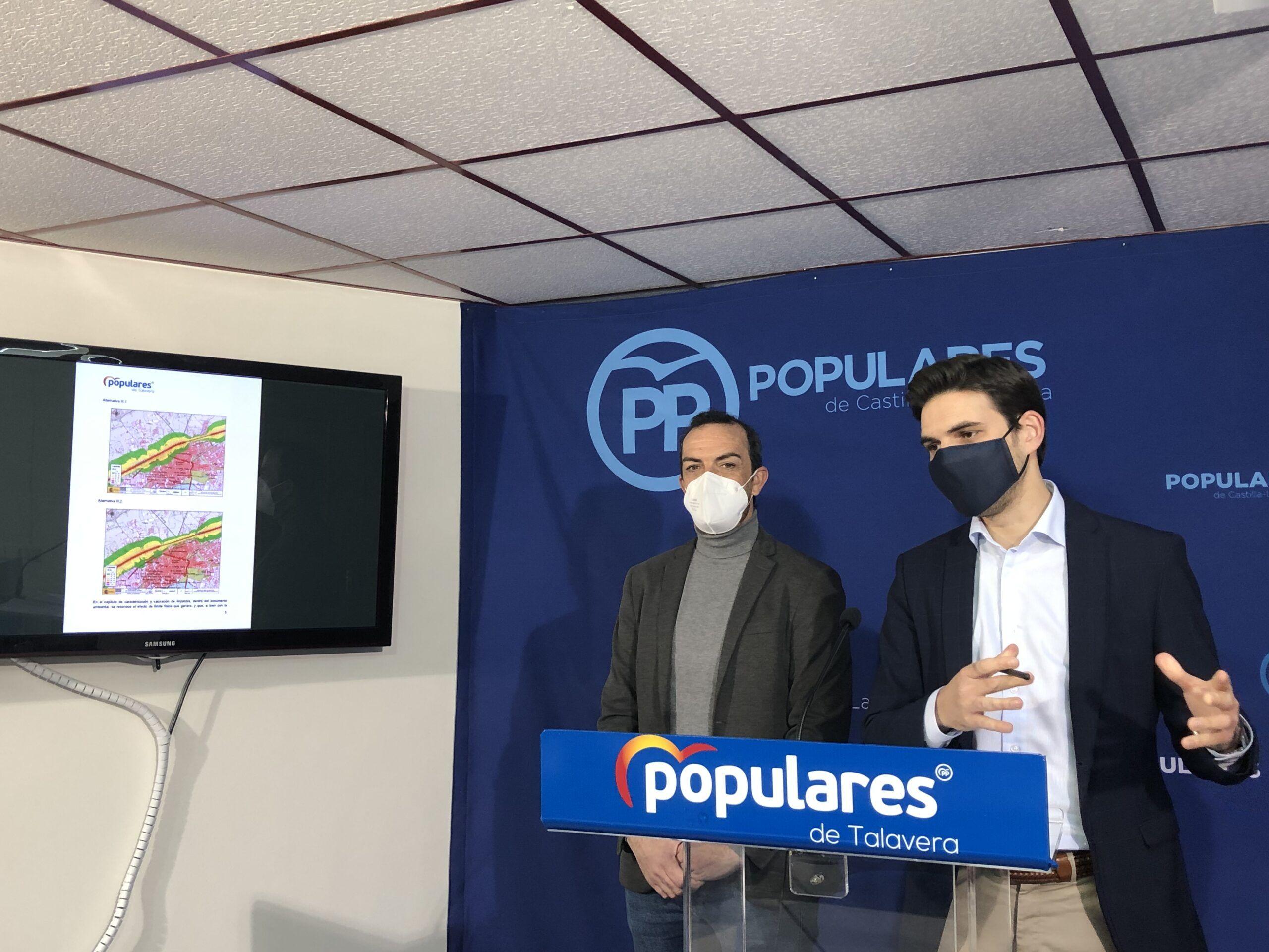 """El PP exige calendario, financiación """"y que Talavera deje de ser ninguneada sistemáticamente"""" en el AVE"""