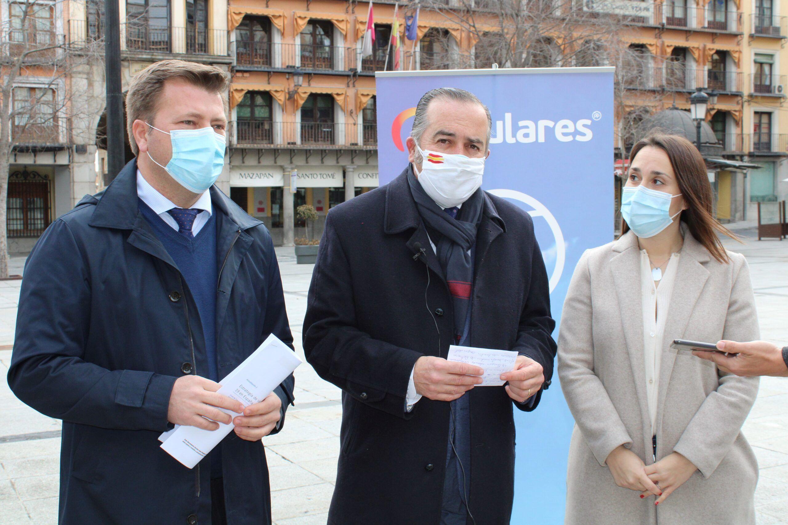 Gregorio exige a Page la dimisión de la alcaldesa de Villamiel y la concejal de la Puebla que se han saltado el protocolo para vacunarse