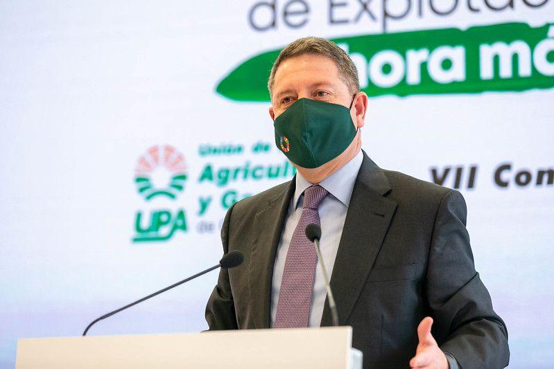 """García-Page defiende la perimetración de las autonomías y reclama la articulación de un """"mensaje único"""" para """"combatir el virus"""""""