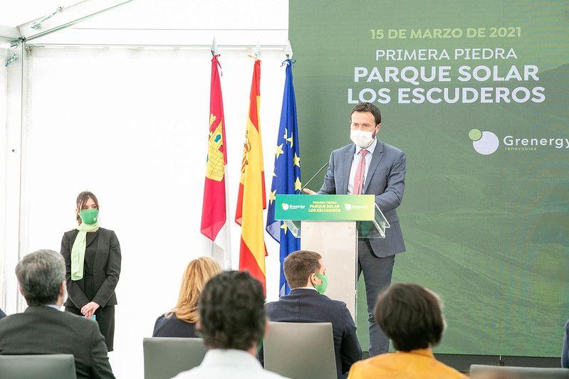El Gobierno de Castilla-La Mancha impulsa inversiones estratégicas en 'renovables' propiciando una transición energética que fomenta el desarrollo económico sostenible de la región