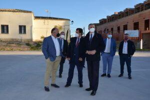 Álvaro Gutiérrez visita proyectos del Ayuntamiento de Ciruelos apoyados por el Gobierno Provincial