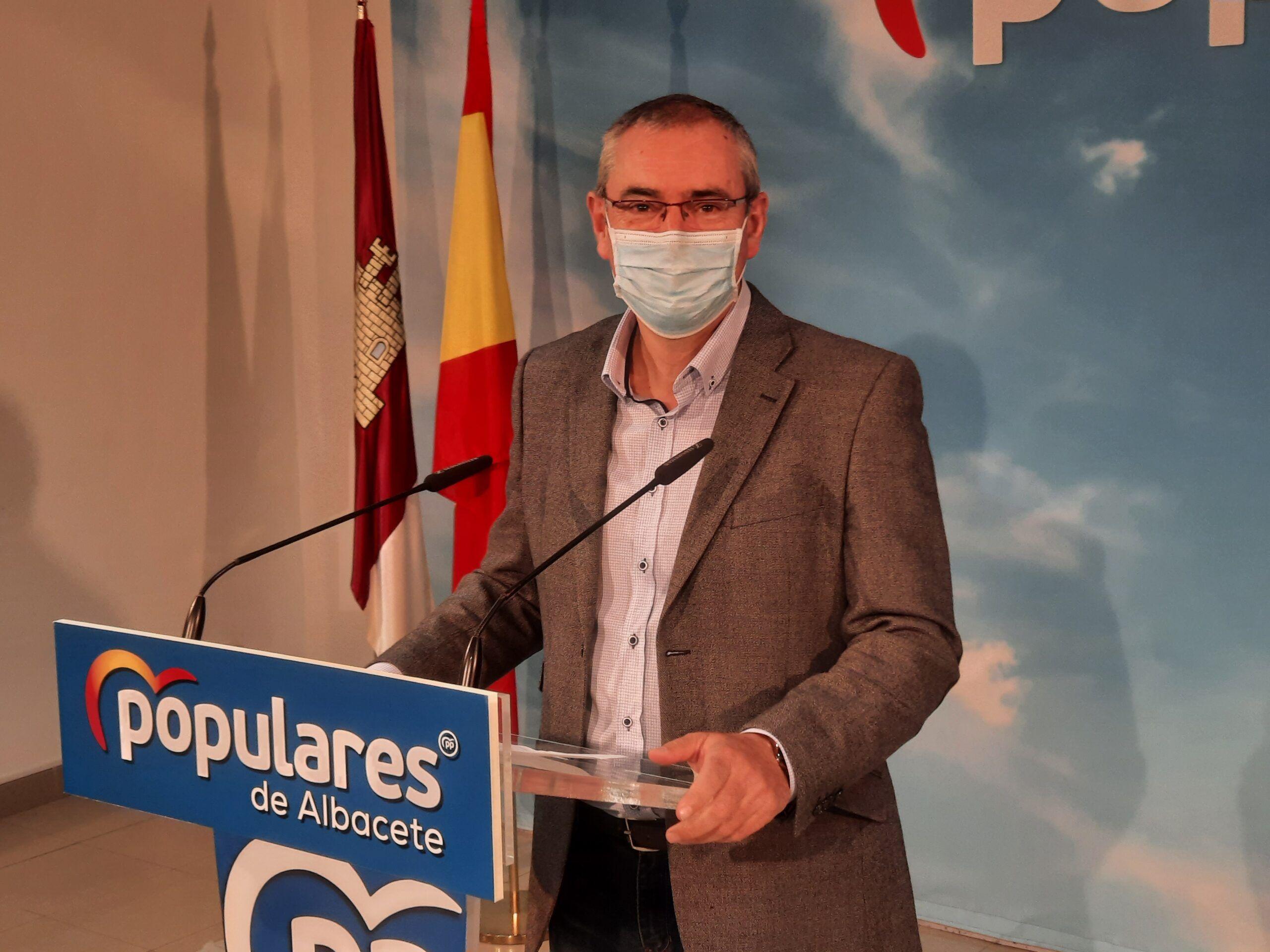 Aroca critica que el dinero que debería ir a sectores económicos de Castilla-La Mancha se destine a rescatar una aerolínea próxima al Gobierno de Venezuela