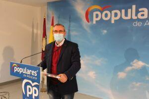 Aroca exige a García-Page una estrategia definida para acelerar el ritmo de vacunaciones anti-covid en Castilla-La Mancha