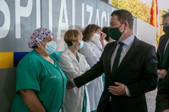 El Gobierno de Castilla-La Mancha hará una inversión cercana a los 1.000 millones de euros en infraestructuras sanitarias y planificación de la vacunación