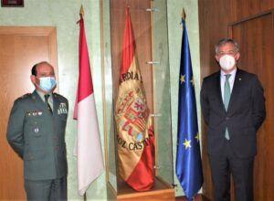 Visita institucional de Eurocaja Rural al General Jefe de la 2ª Zona de la Guardia Civil