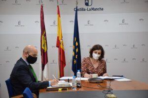 El Gobierno de Castilla-La Mancha apoya el desarrollo de la industria aeroespacial y de alta tecnología en el marco de los fondos europeos del programa Next Generation