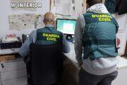 La Guardia Civil detiene en Villarrobledo a una persona que estafó más de 54.000 euros al Ayuntamiento de El Casar