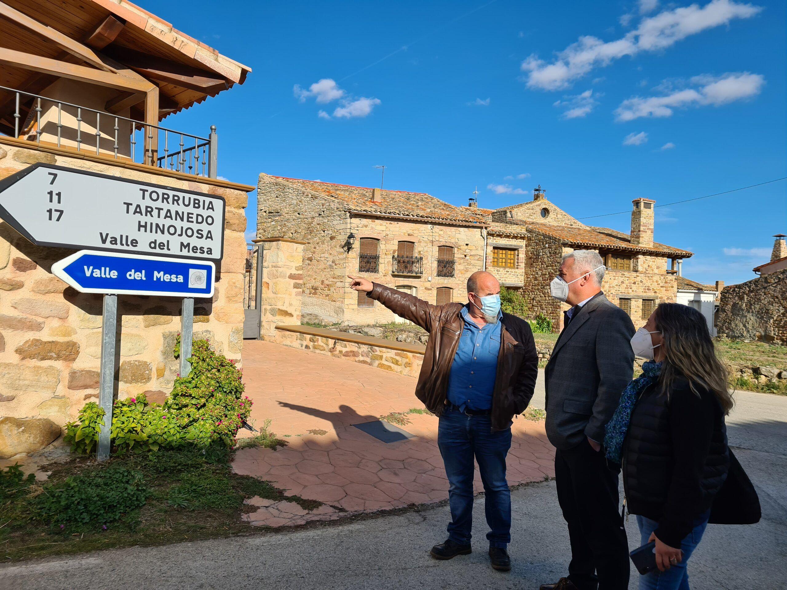 La Diputación de Guadalajara inicia las obras de mejora de la GU-426 entre Rueda de la Sierra y Torrubia