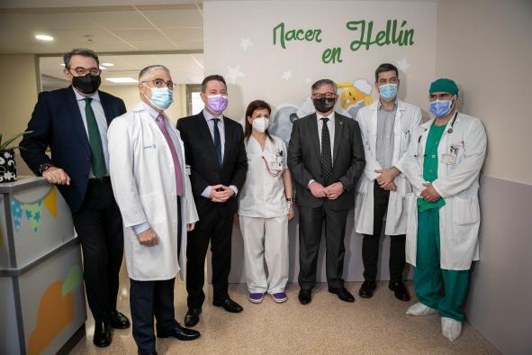 La rehabilitación integral que el Gobierno de Castilla-La Mancha ha llevado a cabo en el Hospital de Hellín redunda en la mejora de la luminosidad y confortabilidad del centro