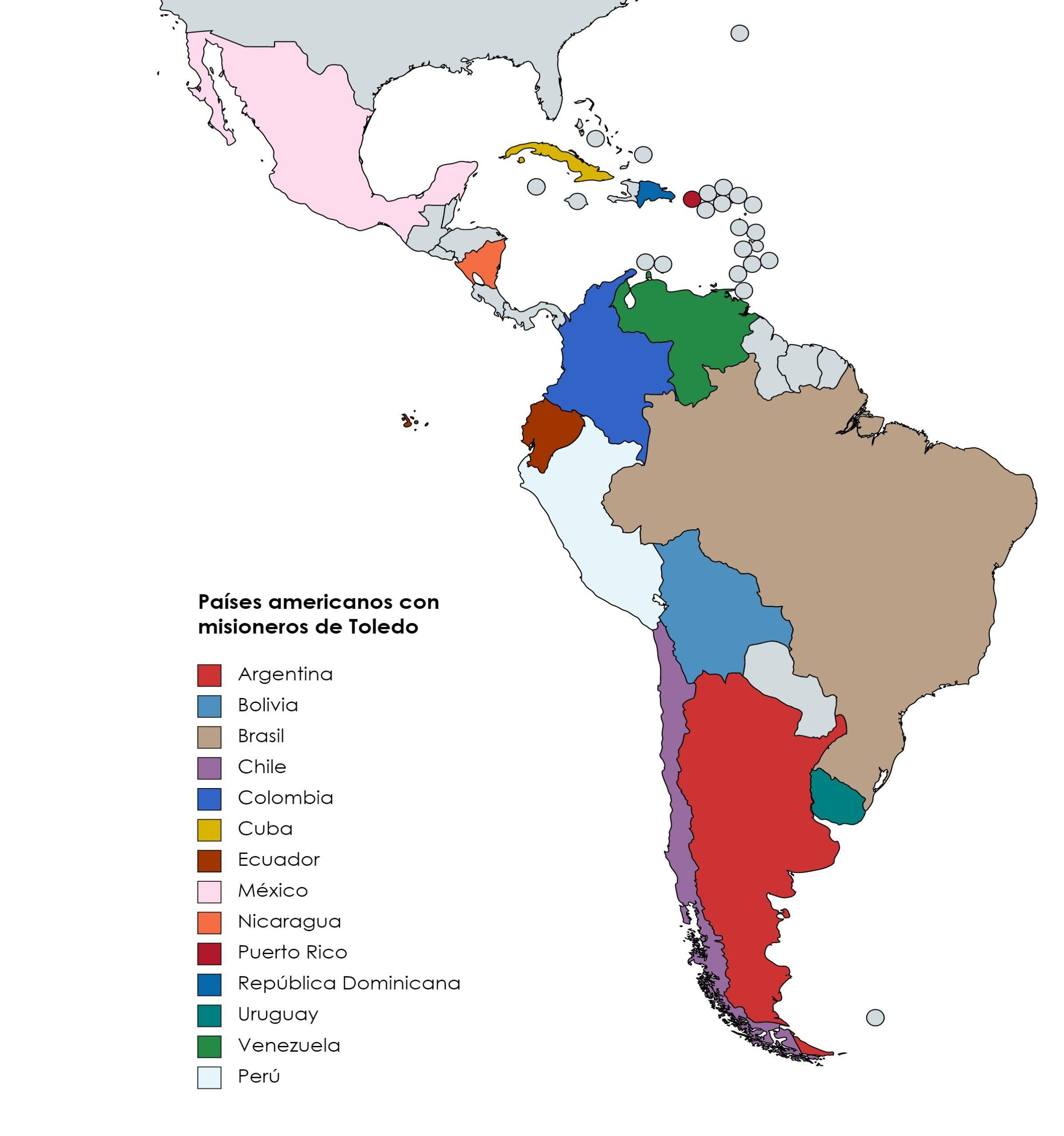 Gratitud a los misioneros toledanos en el Día de Hispanoamérica