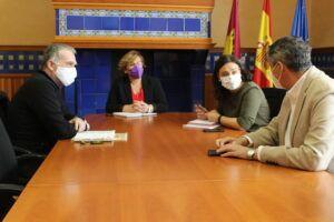 El Gobierno de García-Page y el Ayuntamiento de Ciudad Real retoman acciones de colaboración con motivo del VI Centenario de la ciudad