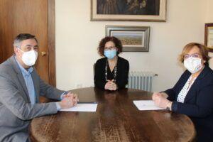 Mejoras educativas con una inversión de 216.000 euros, vías y promoción turística centran el encuentro entre el Gobierno de Castilla-La Mancha y el Ayuntamiento de Miguelturra