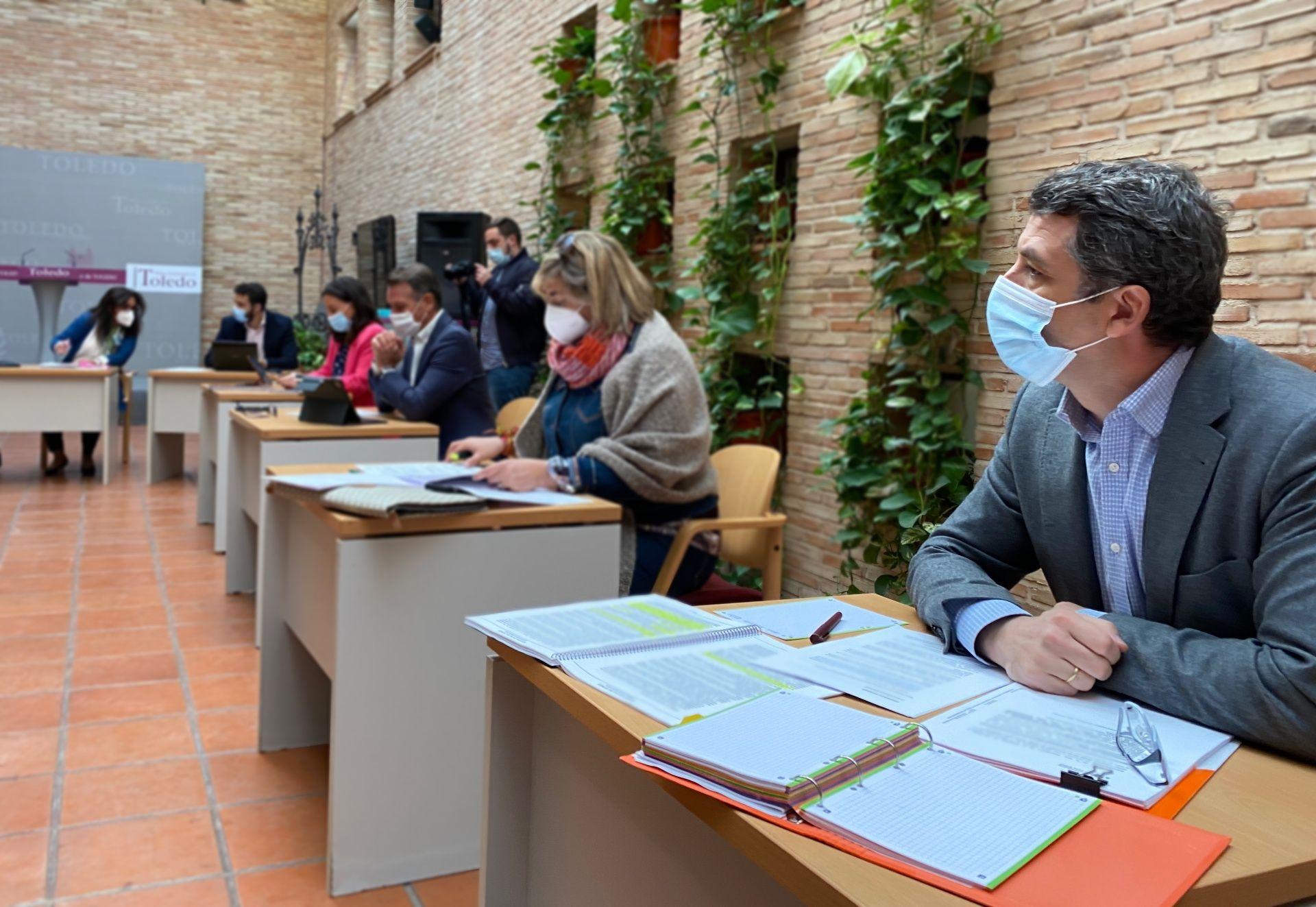 Ciudadanos Toledo exige conocer los pliegos del nuevo contrato de basuras en la próxima comisión de hacienda