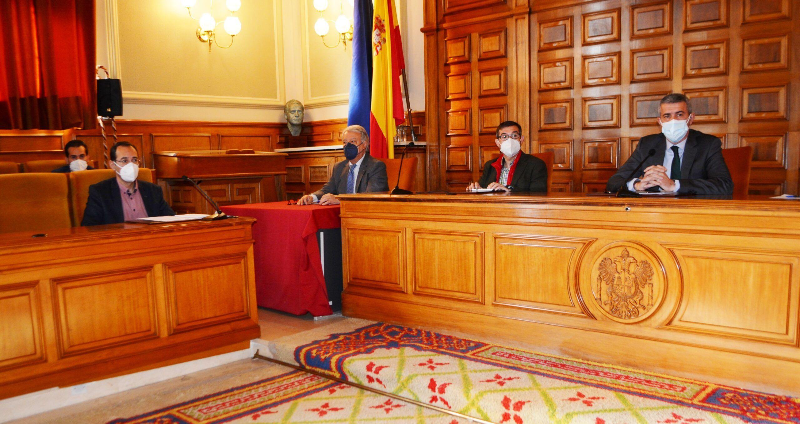 El pleno de la Diputación aprueba por unanimidad más de 25 millones de euros para la reactivación económica y generación de empleo en la provincia