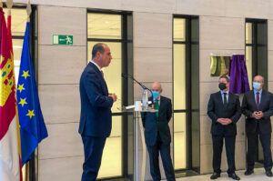 Rojo emplaza al Gobierno de España a abordar el futuro del edificio de la plaza de Beladíez tras la salida de los juzgados a sus nuevas dependencias