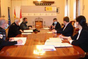 El subdelegado del Gobierno preside la reunión del CECOP para coordinar el operativo de Semana Santa con las medidas frente al Covid 19