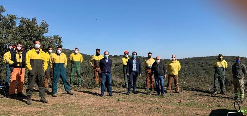 El Gobierno regional realizará trabajos silvícolas de prevención de incendios forestales en más de 1.500 hectáreas en Toledo durante 2021