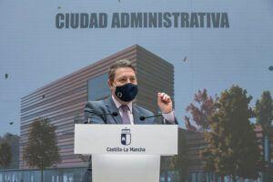 García-Page ve incompatible defender el trasvase Tajo-Segura y gestionar fondos europeos con criterios de sostenibilidad