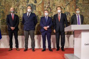 """García-Page solicita """"con urgencia"""" a los 27 ministros de Agricultura de la Unión Europea la activación de fondos adicionales para el sector vitivinícola"""