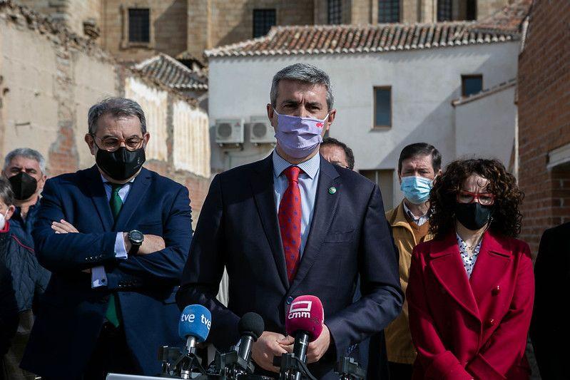 Álvaro Gutiérrez anuncia que los ayuntamientos ya pueden solicitar las ayudas del Plan Extraordinario de Inversiones Municipales dotado con 15 millones
