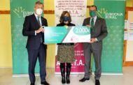 Fundación Eurocaja Rural entrega a AFATA una ayuda de 2.000 euros para favorecer la actividad de sus usuarios durante la pandemia