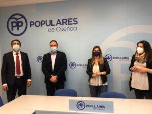 """Agudo felicita a `Tu Abandono Me Puede Matar´ por liderar desde el primer momento este proyecto: """"Es una gran noticia para Cuenca, su provincia y para toda Castilla-La Mancha"""""""