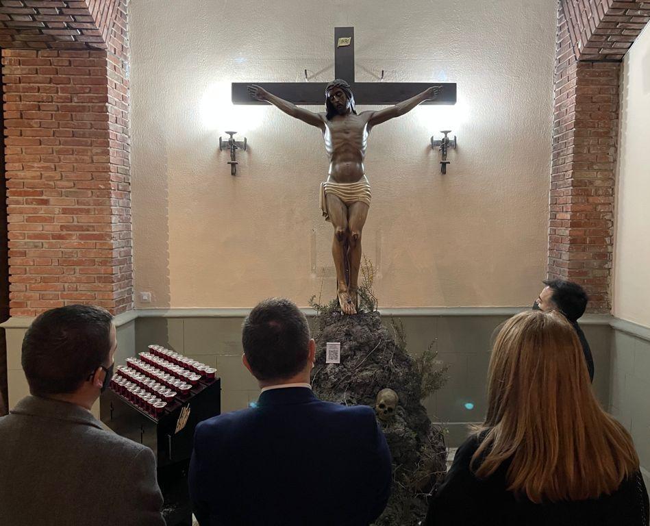 Manuel Serrano agradece a la Junta de Cofradías y al mundo cofrade de Albacete el gran esfuerzo realizado para acercar a los albaceteños el espíritu de la Semana Santa en tiempos de pandemia