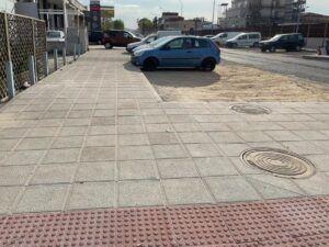 Paños (Cs) alerta de la falta de alcorques en la renovada calle Jarama y pide al PSOE que lo explique