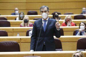 Antonio Román insta al Gobierno de España a informar sobre el futuro del edificio de los juzgados de Beladíez
