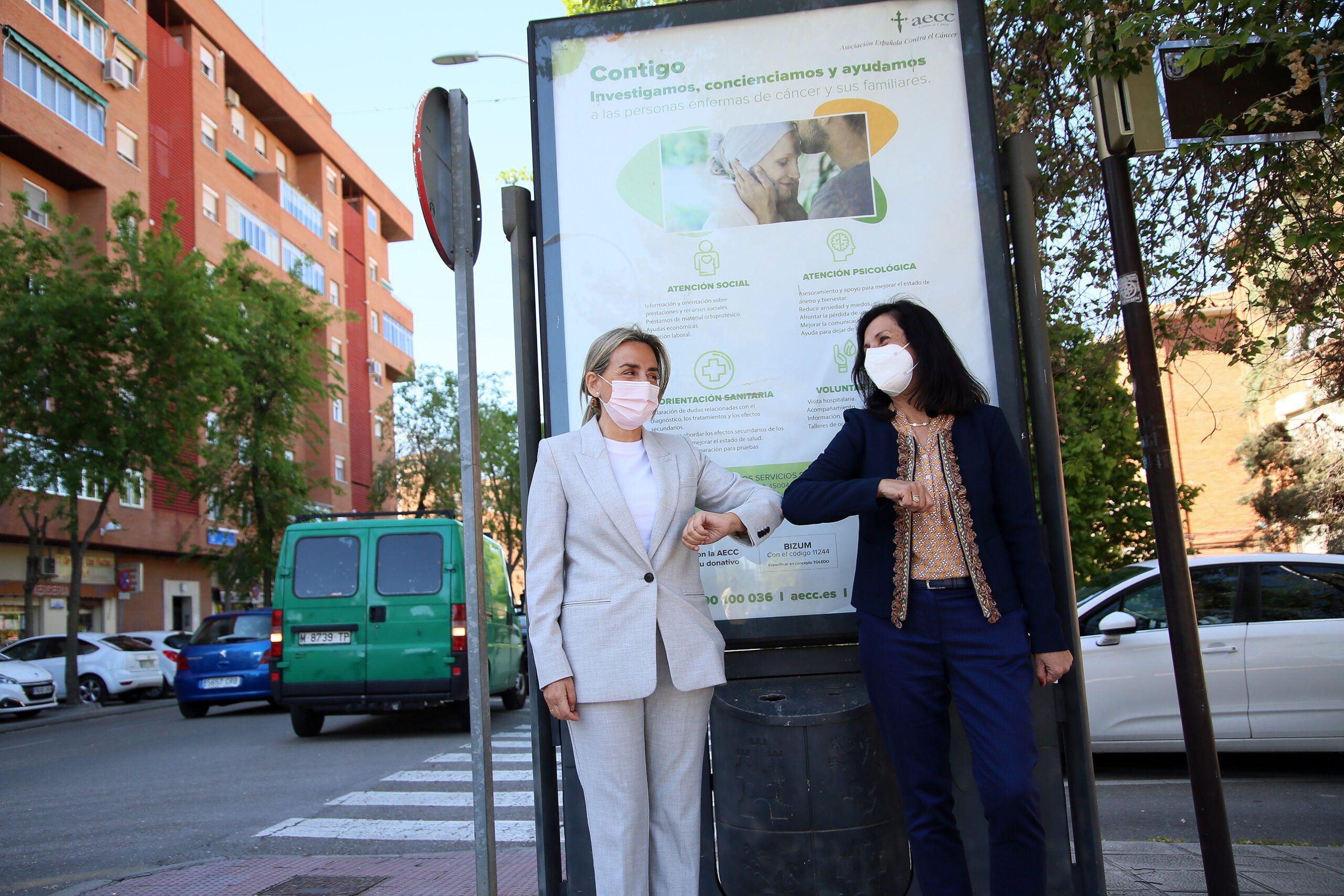 El Ayuntamiento colabora con la AECC en la difusión de información y sensibilización sobre el cáncer