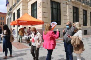 """Cs Guadalajara entra en la campaña madrileña para pedir el voto para Cs porque Madrid necesita """"políticas y no proclamas y enfrentamientos"""""""