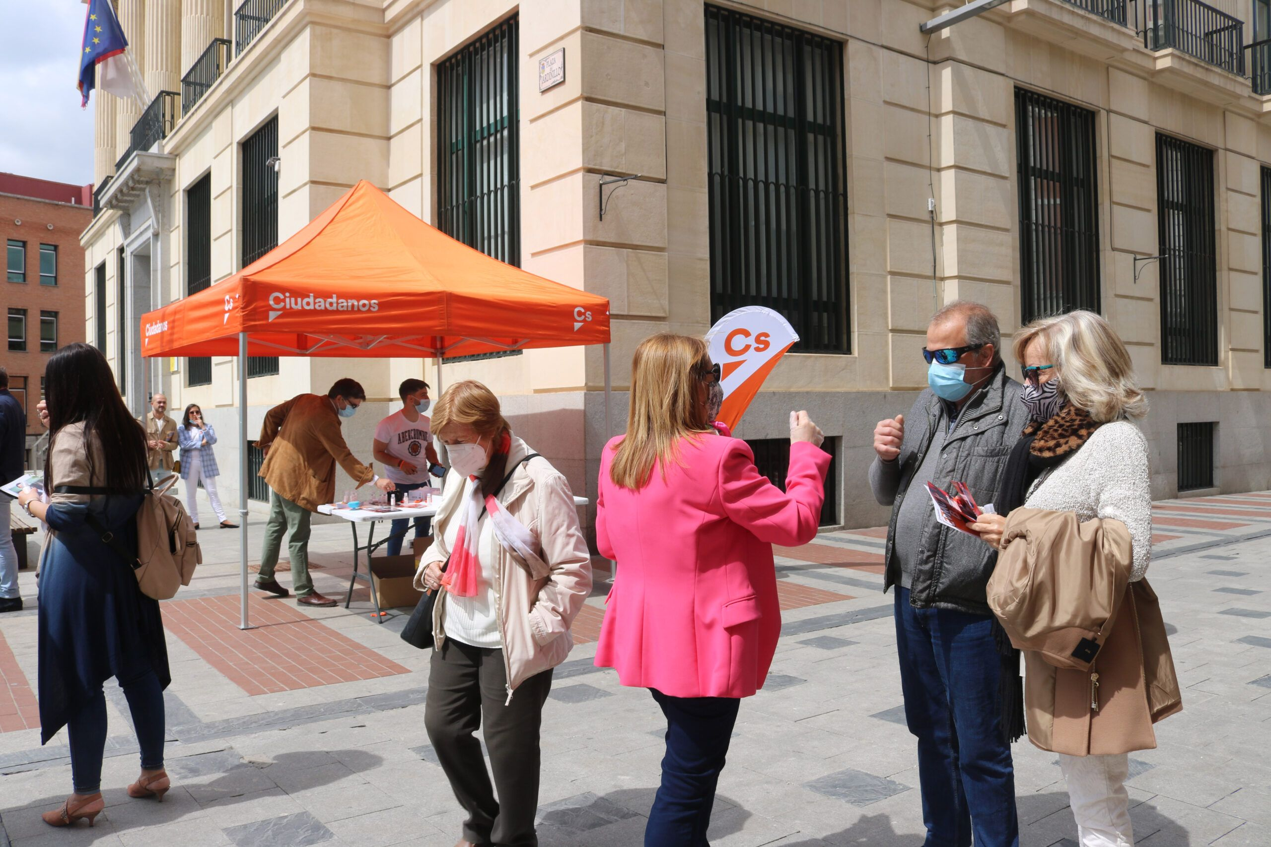 Cs Guadalajara entra en la campaña madrileña para pedir el voto para Cs porque Madrid necesita