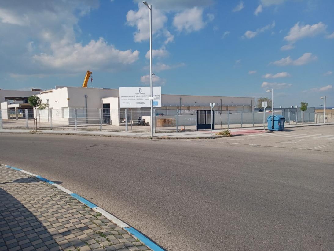 El Gobierno regional saca a licitación las obras de la tercera fase del CEIP 'Noelia Gómez Montesori' de Seseña por un importe de más de 1.800.000 euros