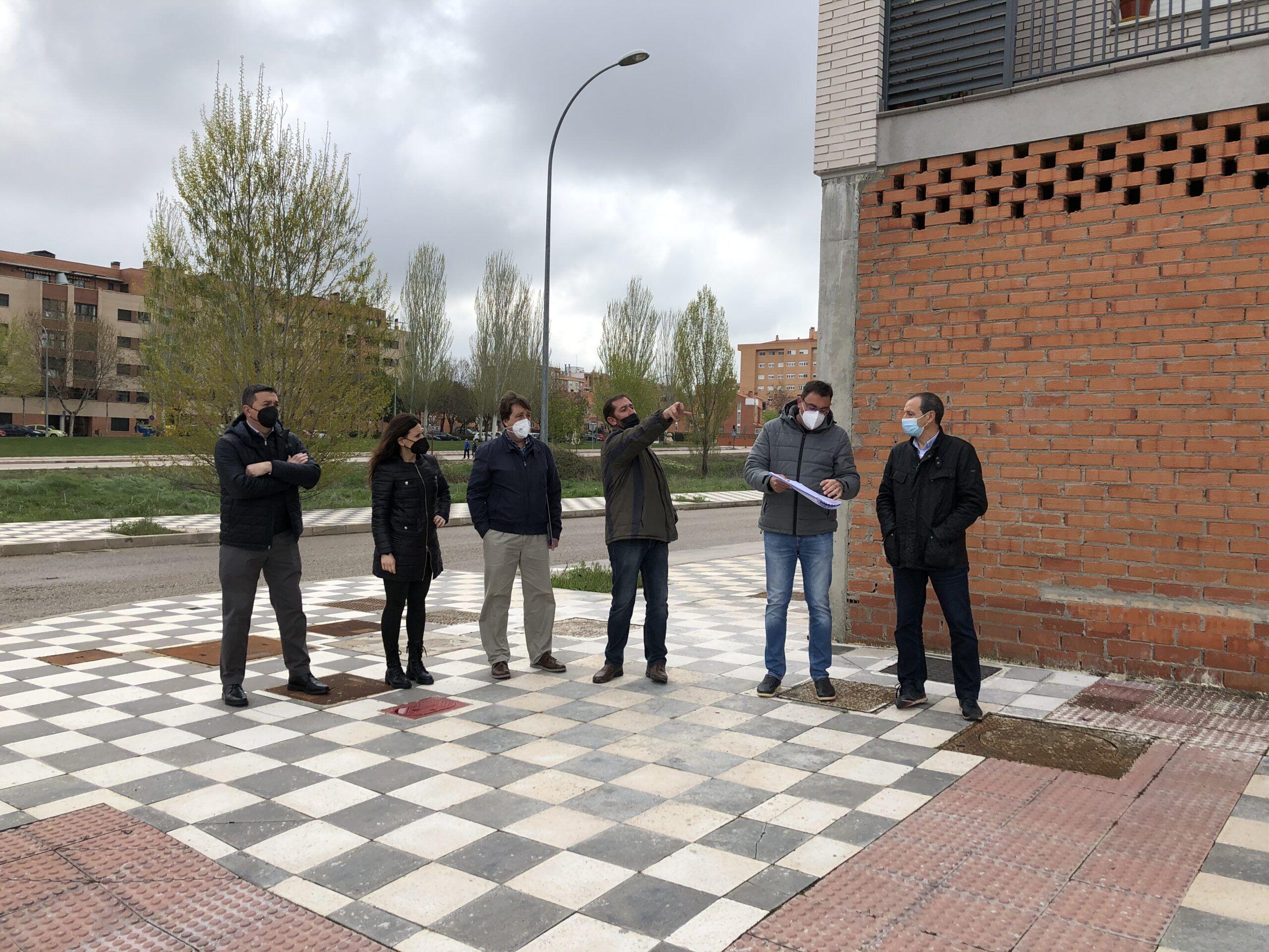 Firmada el acta de replanteo para el inicio de las obras de finalización de la urbanización del barrio Cerro de la Horca