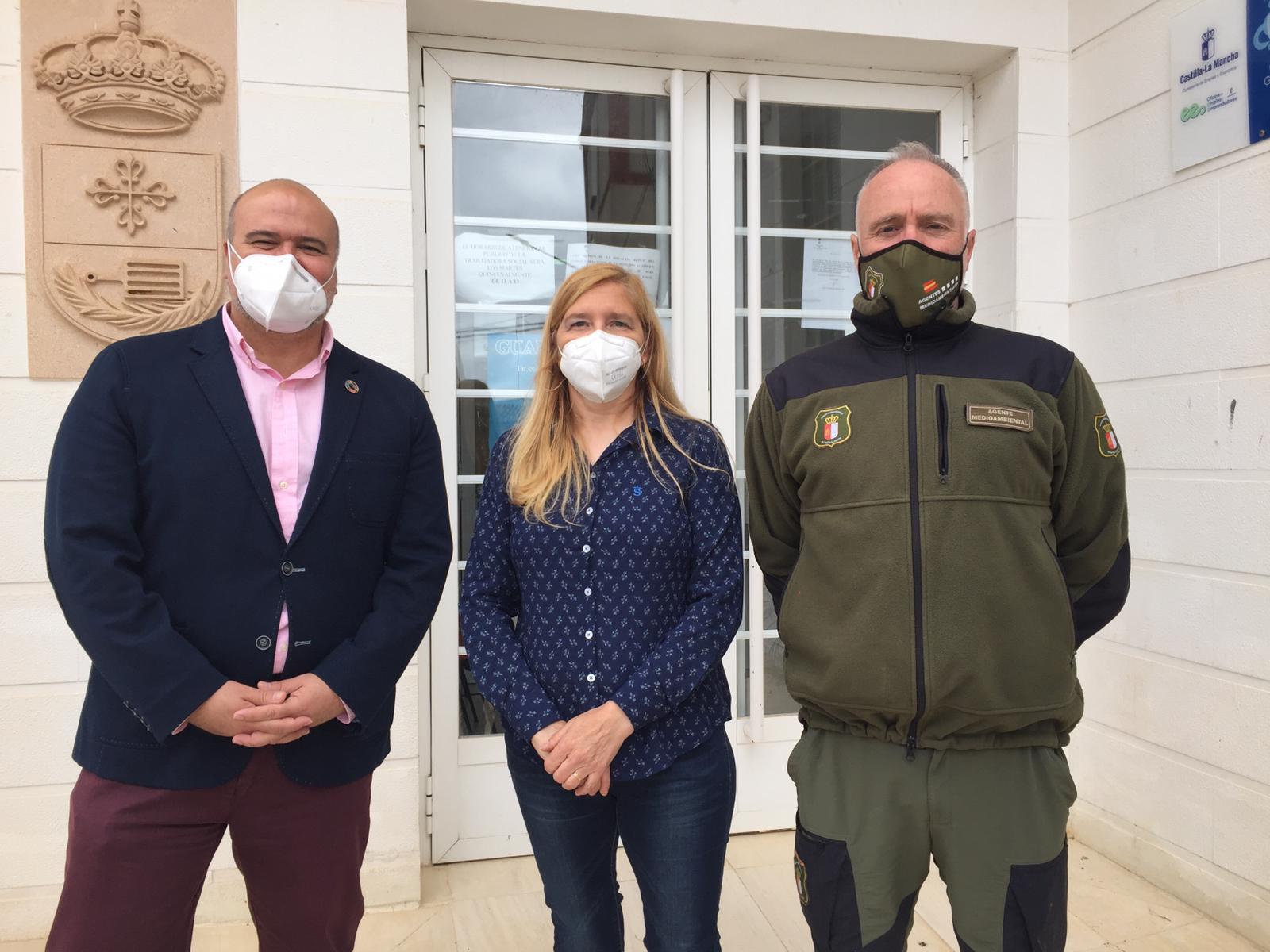 El Gobierno de Castilla-La Mancha estudia con los alcaldes de San Lorenzo de Calatrava y Mestanza la situación del Parque Natural del Valle de Alcudia y Sierra Madrona