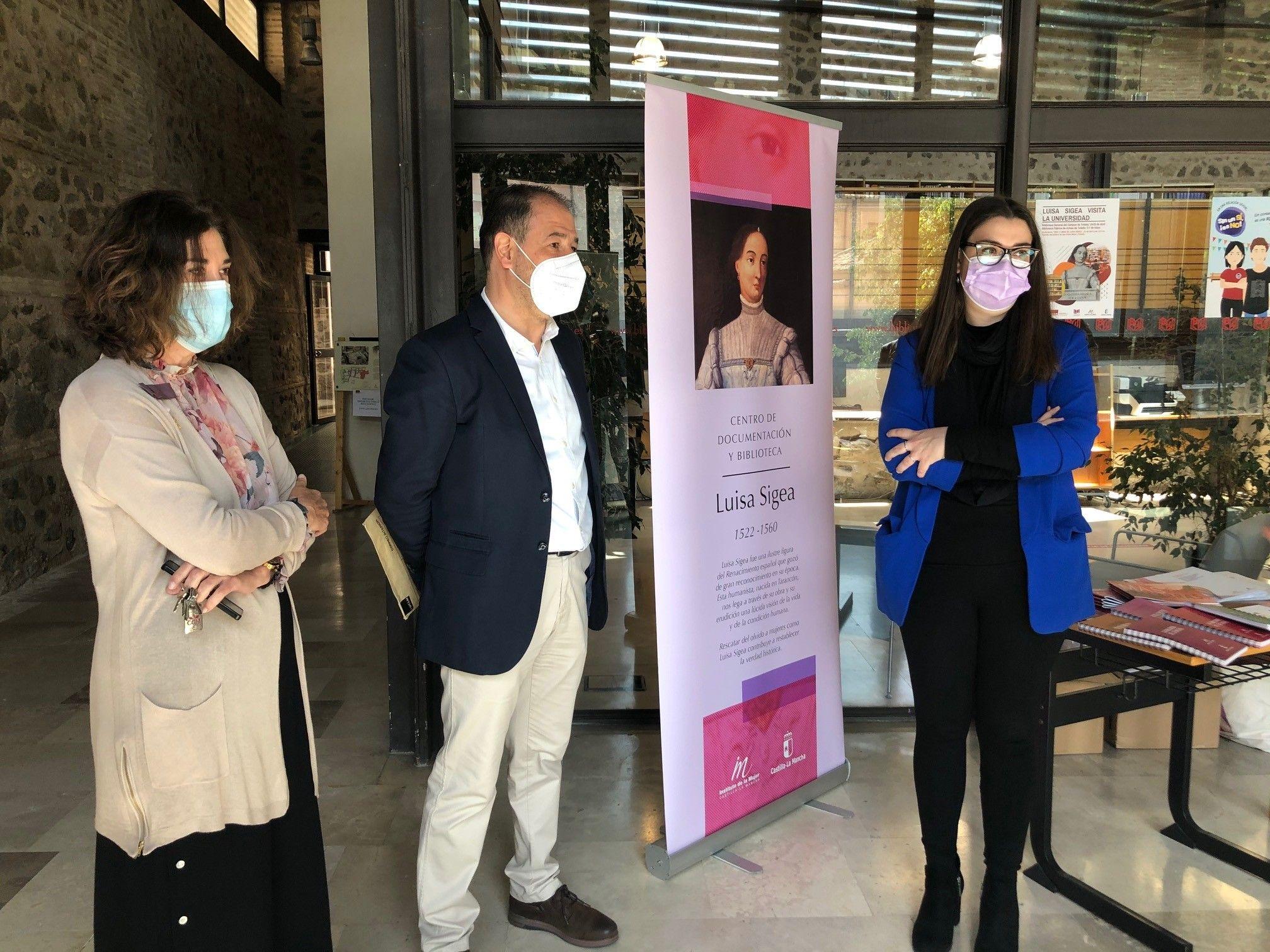 El Gobierno regional presenta laactividad `Luisa Sigea visita la Universidad´ para acercar obras sobre igualdad de género y feminismo