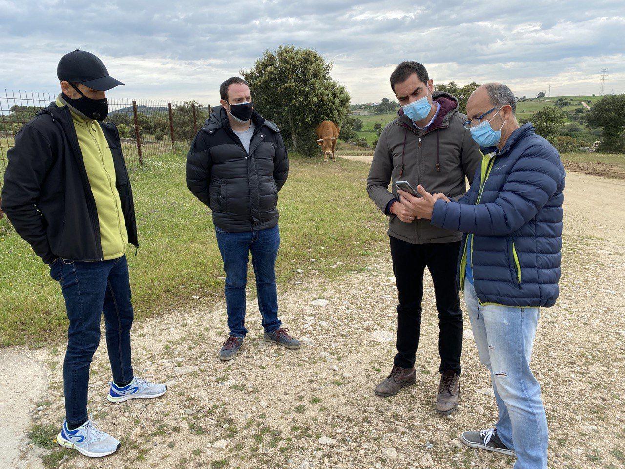 Comendador propone a la Diputación recuperar los caminos públicos de la provincia de Toledo ahora ocupados por propietarios de fincas